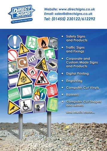 Direct Signs (UK) Ltd Catalogue 2017 v2