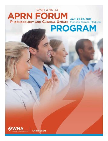 2018 WNA APRN Forum Pharmacology and Clinical Update