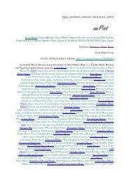 songs sheet music