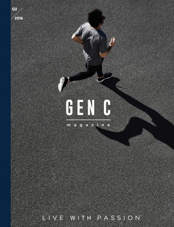 GEN C Magazine : LIVE WITH PASSION