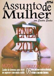 Revista Assunto de Mulher 1º edição