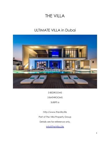 Ultimate Villa - Dubai
