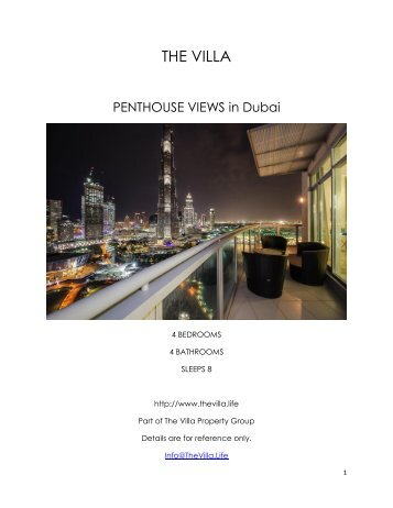 Penthouse Views - Dubai