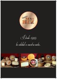 QUESOS DE LA HUZ - Catálogo 2012