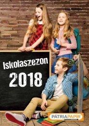 Iskolaszezon katalógus 2018