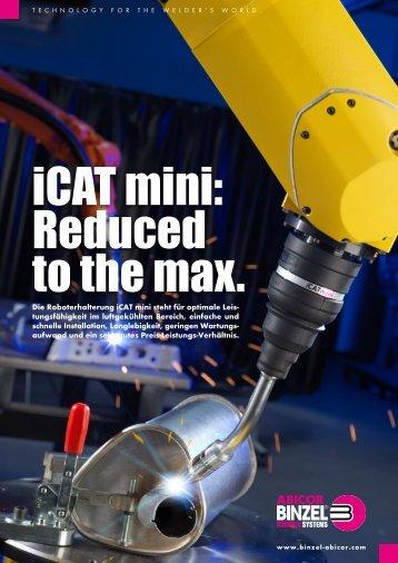 Roboterhalterung iCAT mini