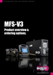 Product overview & ordering options MFS-V3