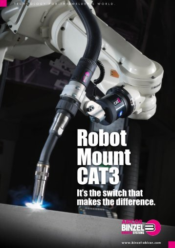 Robot mount CAT3