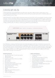 CRS112-8P-4S mikrotik - mstream.com.ua