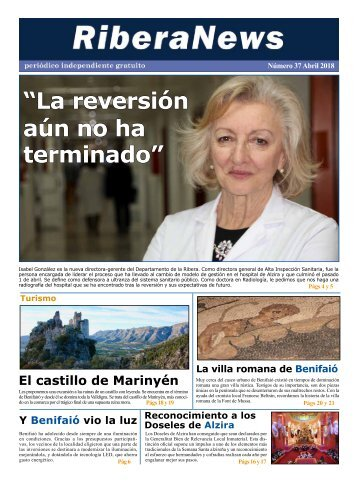 RiberaNews Abril 2018