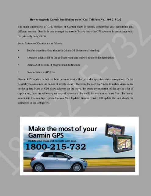 How to Install Free Maps on Garmin Devices Garmin GPS 1800