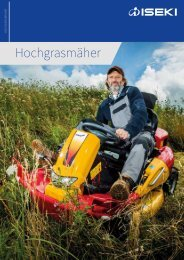 Canycom Hochgrasmäher Katalog 2018