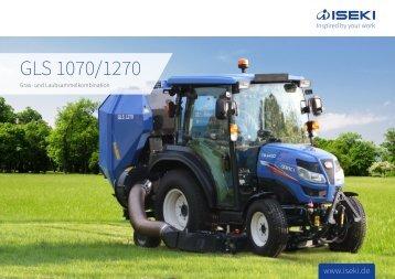 ISEKI Gras- und Laubsauger Serie GLS 1070 / 1270