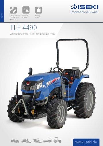 ISEKI Traktor TLE 4490