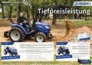 ISEKI Agri-Line Traktoren 2017