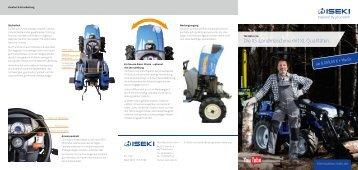 ISEKI Traktor TM3185 Broschüre