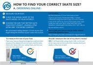 Find your skate size