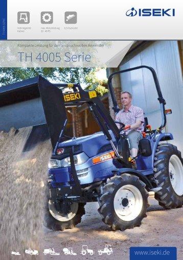 ISEKI Traktorserie TH 4005