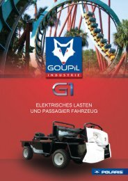 Goupil G1 Resort Elektrotransporter