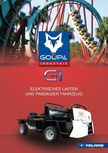 Goupil G1 Resort Elektrotransporter