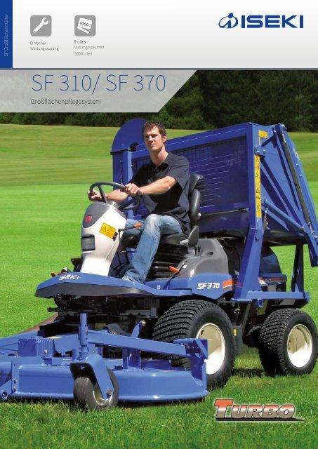 ISEKI Großflächenmäher SF 310 / SF 370