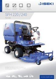 ISEKI Großflächenmäher SF 240 SFH 240