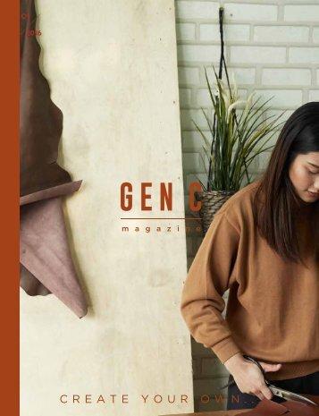 GEN C Magazine : CREATE YOUR OWN
