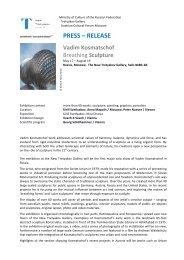 Press release_Vadim Kosmatschof. Breathing sculpture_FIN