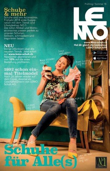 LEMO Katalog Frühling Sommer 2018
