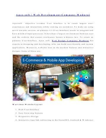 SEO Company in India |Apex Soft | Web Design Company