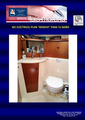 WC ELÉCTRICO; PLAN RENOVE PARA TU BAÑO - Fondear.org