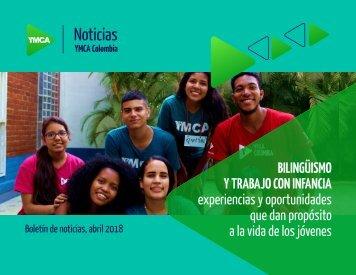 Boletin Abril, YMCA Colombia