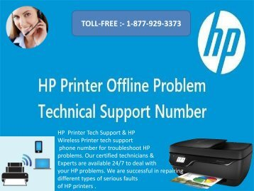 HP Printer tech support Phone Number