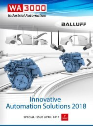 Innovative Automation Solutions 2018 - Special Issue