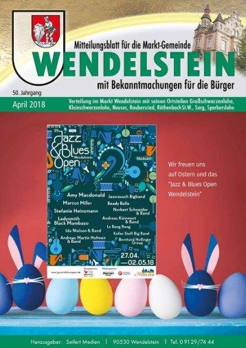 Wendelstein - April 2018