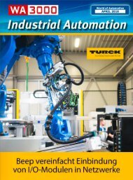 Industrial Automation - WA3000 April 2018