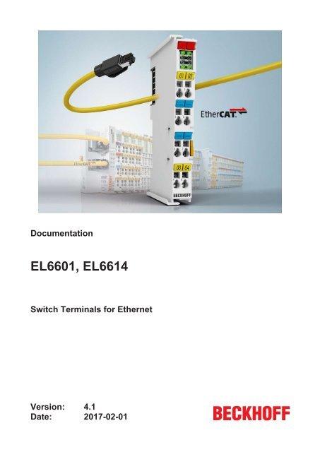 Beckhoff EL9010 EL9010-0000 Bus End Terminal EtherCAT Industrial Control NEW