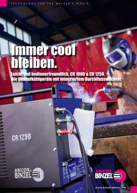 Umlaufkühlgeräte CR 1000 & CR 1250