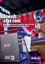 Cooling units CR 1000 & CR 1250
