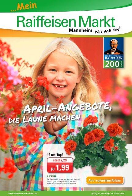 Raiffeisen Mannheim Prospekt  KW16 gültig ab 21April