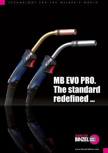 MB EVO PRO. The standard redefined ...