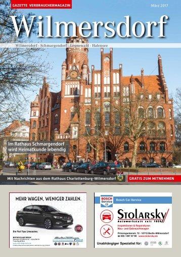 Gazette Wilmersdorf März 2017