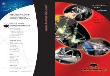 Lote, Dosiergeräte und Maschinen ... - Fusion Inc.