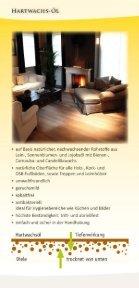 glimtrex Hartwachsöl Flyer - Page 2