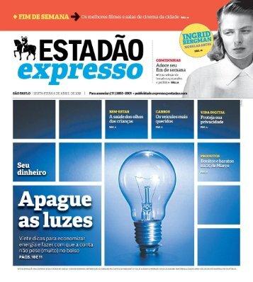 Estadão Expresso - Edição de 06.04.2018
