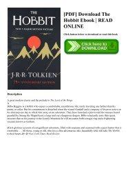 [PDF] Download The Hobbit Ebook  READ ONLINE