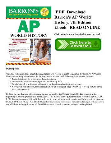 World history of art revised 7th edition laurence king pdf download barrons ap world history 7th edition ebook read online fandeluxe Images