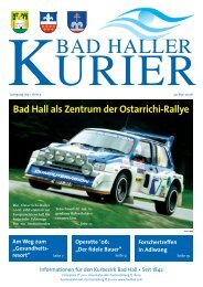 Datei herunterladen - .PDF - Bad Hall - Land Oberösterreich