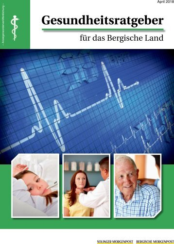 Gesundheitsratgeber für das Bergische Land  -20.04.2018-