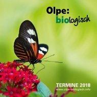 Olpe-biologisch - Programmheft 2018